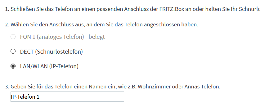 FritzBox konfigurieren 3