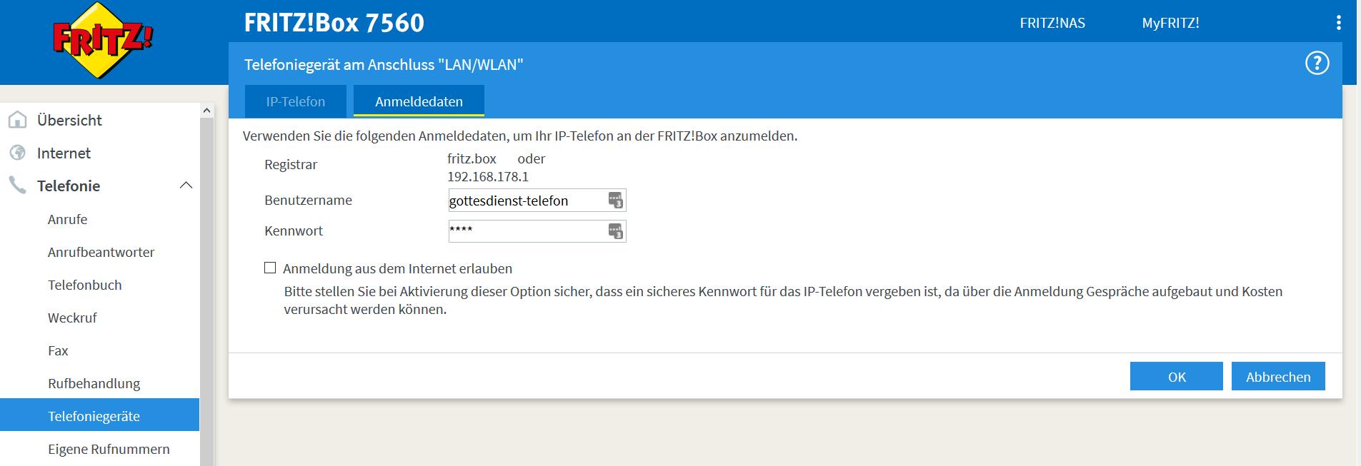 FritzBox konfigurieren 7